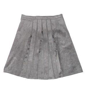 KAPALUA Grey Pleated Skirt sz 6